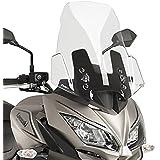 Puig Bulle Touring Couleur Transparent 9421W 650 Kawasaki Versys 1000 17'-18' , Noir