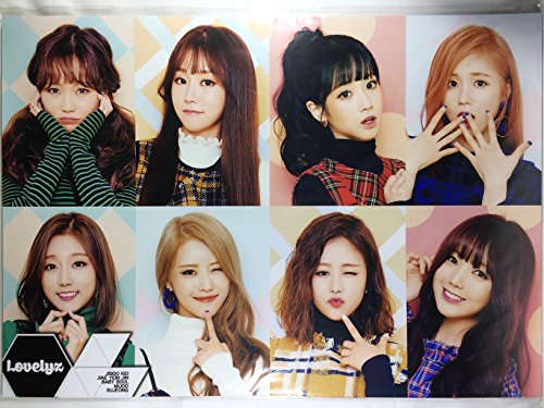 LOVELYZ ラブリーズ グッズ / A3 ポスター 12枚 + ステッカー シール 1枚セット - A3 Size Poster 12sheets + Sticker 1sheet [TradePlace K-POP 韓国製]の商品画像