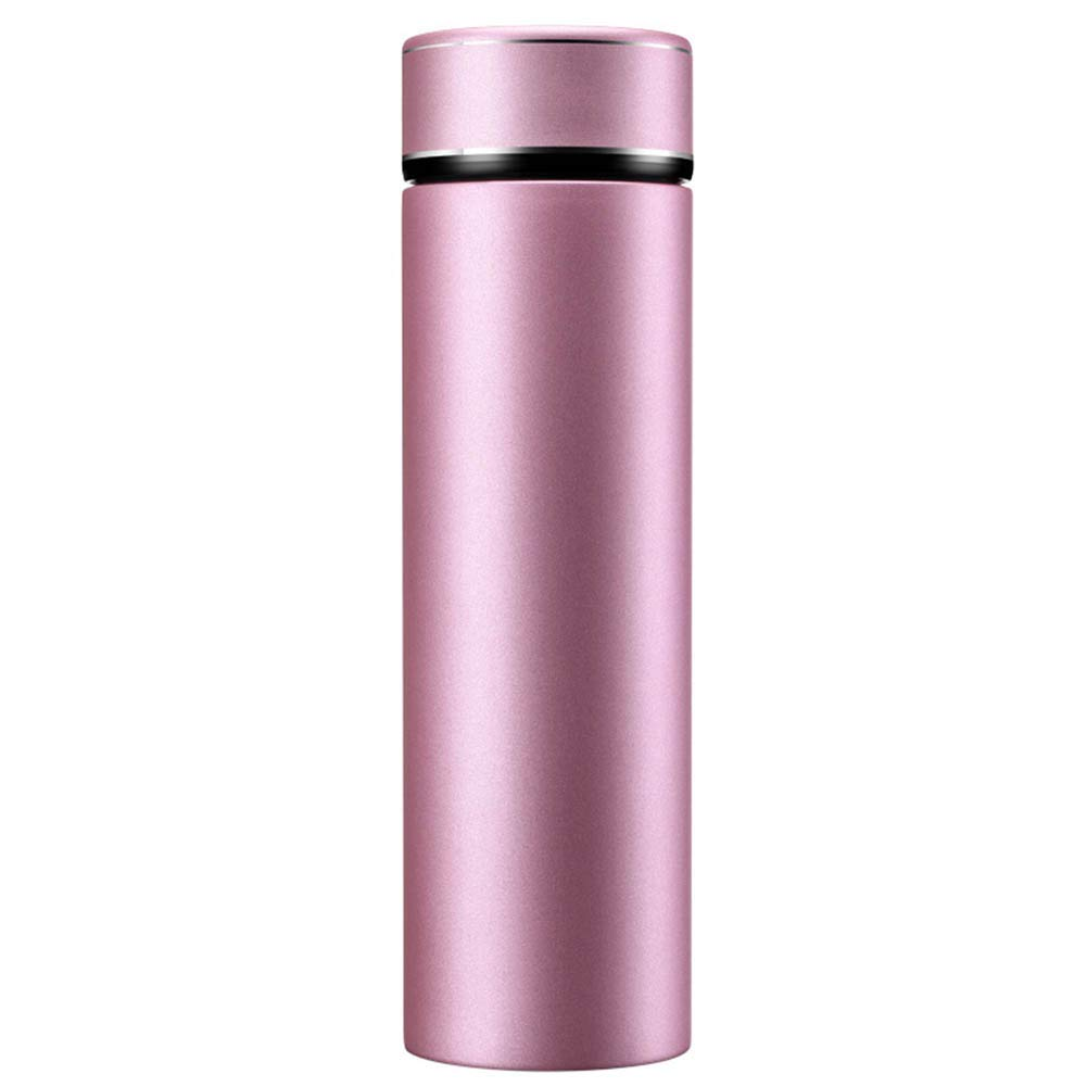Pink gold Thermos Insulation Pot Thermal Carafe Vacuum Insulated Jug Coffee Pot Flask Tea Pot Water Pitcher with Lid Handle Travel CupOutdoor Sports Stainless Steel CONGMING (color   pink gold)
