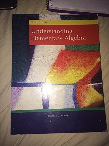 Title: Understand.ELEM.ALG.-W/Access
