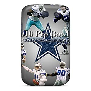 Funnylife4 Cases Covers Protector Specially Made For Galaxy S3 Dallas Cowboys