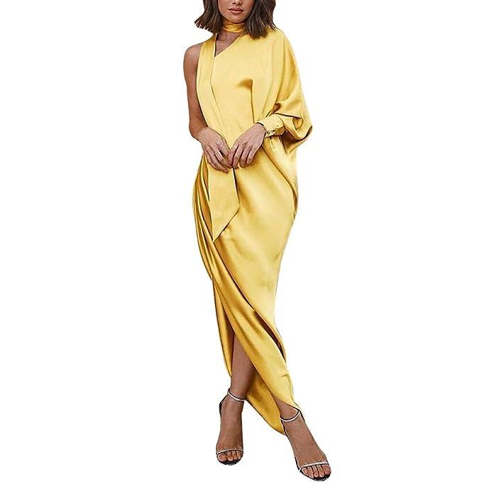 ... De Las Mujeres De Alta Cintura Convertible Multi-Forma Abrigo Dama De Honor Formal Largo Vestidos Maxi Vestido: Amazon.es: Ropa y accesorios
