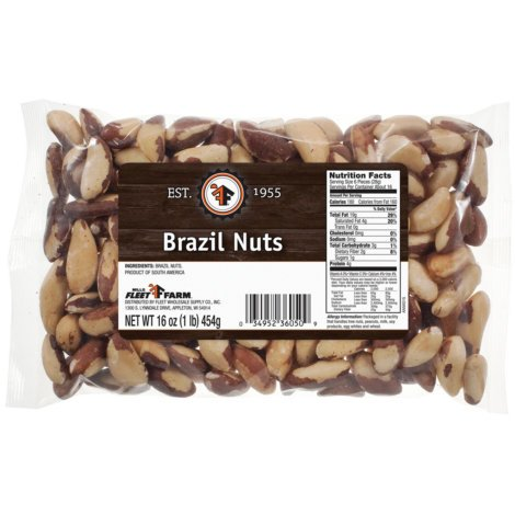 Mills Fleet Farm Brazil Nuts - 16 Oz