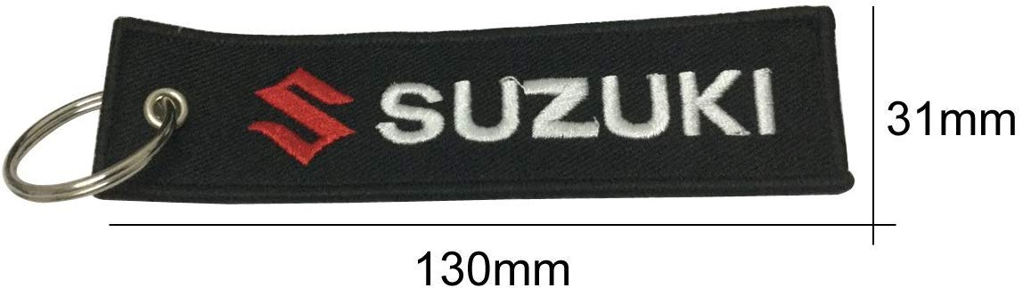 Jet tag Keychain Scooters Cars and Gifts 2 Pcs in Set Keychain Double Sided for Motorcycles Suzuki