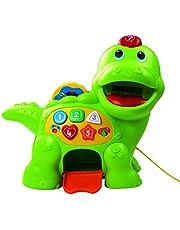 VTech Baby 157703 Feed Me Dino - Juguete para bebé, color verde