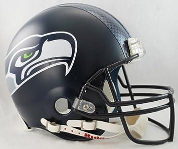 Casco aut¨¦ntico Seattle Seahawks VSR4 de la NFL