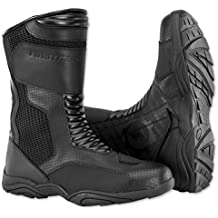 Firstgear Mesh Hi Men's Motorcycle Boots (Black, Size 9)