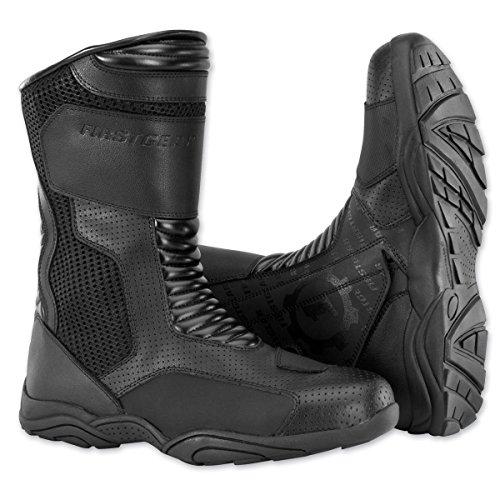 Firstgear Mesh Hi Boots (8) (zwart)