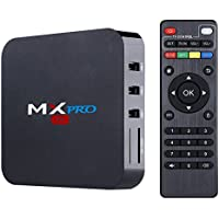 Android TV BOX, AMALEN MX PRO Android 6.0 Amlogic S905X Quad Core 64bits 1gb RAM 8gb Flash Support Wifi Smart tv box