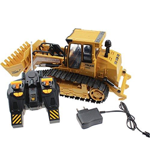 Hugine 6 CH Remote Control Crawler Heavy Bulldozer