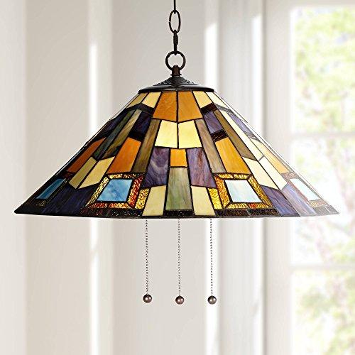 Geo Mission Table Lamp - Robert Louis Tiffany Geo Earth 21 1/4
