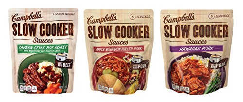 Campbells Slow Cooker Sauces Variety product image
