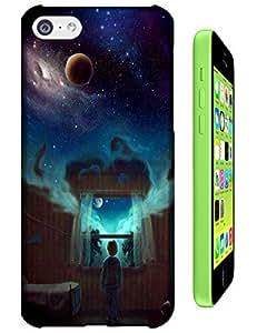 Sangu Endless Reverie Hard Back Shell Case / Cover for Iphone 5c