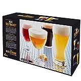 Durobor Beer Expertise Beer Tasting Glasses
