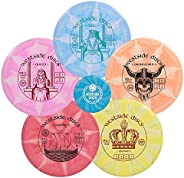 Westside Discs Origio Burst Disc Golf Starter Set| Frisbee Golf Set | King Distance Driver | Queen Distance Dr