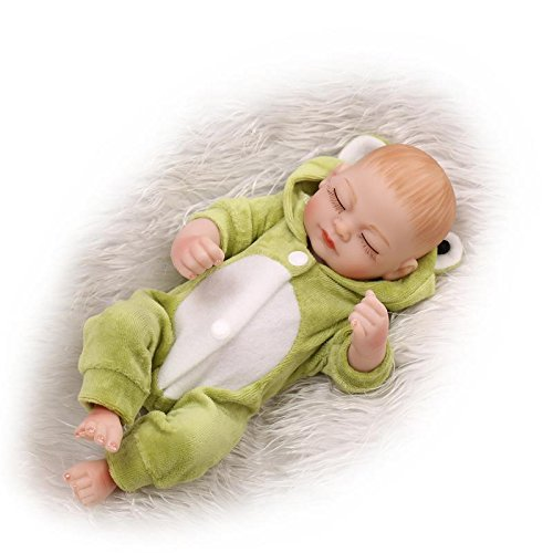 10 Quot Full Silicone Body Lifelike Reborn Baby Doll With Boy