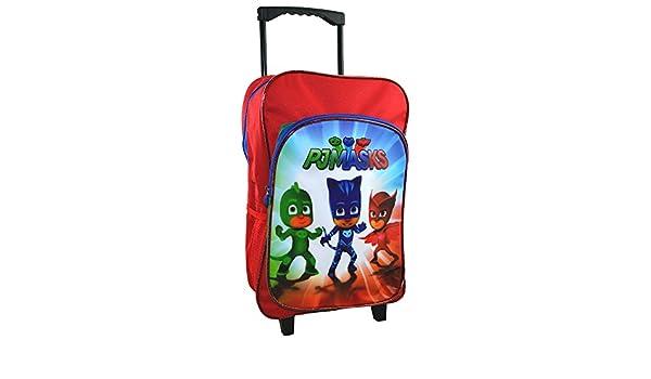 PJ Masks CAT-DLC-03 Deluxe - Carro de viaje con mochila (40 cm): Amazon.es: Juguetes y juegos