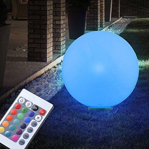 Lampe DEL RVB boule lumineuse décoration éclairage jardin terrasse ...