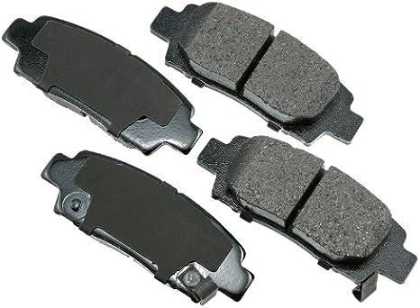 Disc Brake Pad Set-ProACT Ultra Premium Ceramic Pads Front Akebono ACT707