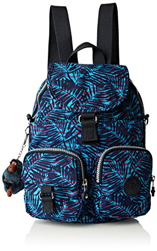 Kipling Firefly N, Borsa a Zainetto Donna Multicolore (Multicolore (Jungle Pr))