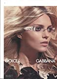 **PRINT AD** With Julia Stegner For Dolce & Gabbana Sunglasses