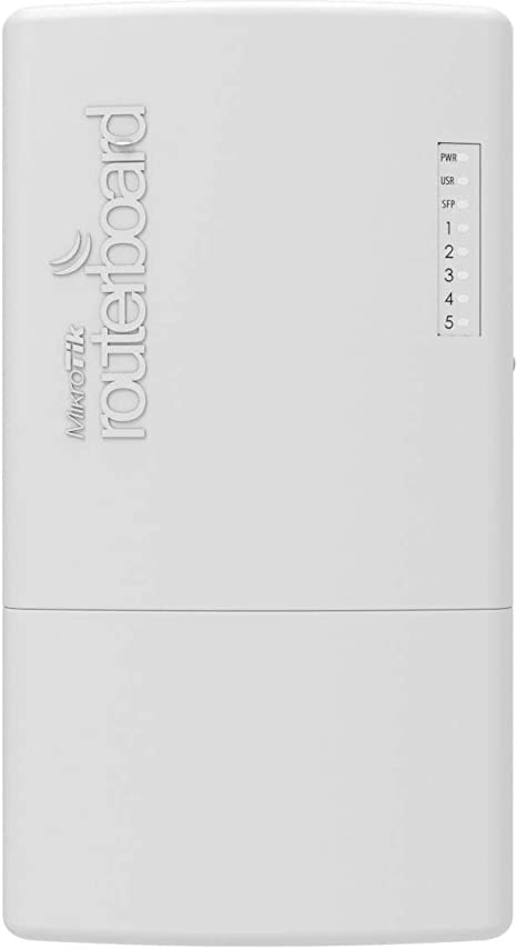Mikrotik Powerbox Pro Ethernet Blanco - Router (10,100,1000 MBit/S, 10/100/1000Base-T(X), Ieee 802.3Af,Ieee 802.3At, Blanco, 16 MB, 128 MB)