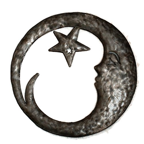 Haitian Metal Art - Crescent Moon
