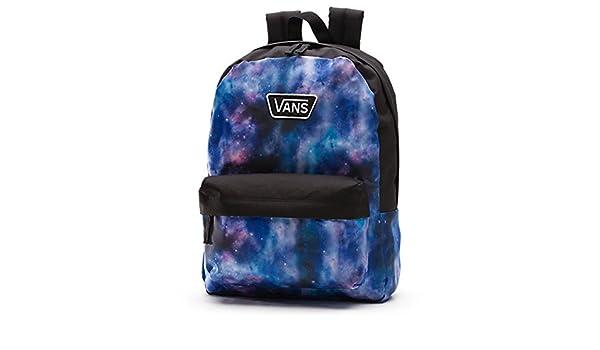 Vans Realm II RTL. Mochila de galaxia nebulosa colores negro, azul y morado. Mochila escolar: Amazon.es: Zapatos y complementos