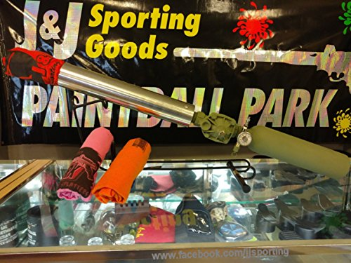 JJSporting Multi Launcher, Tennis Ball Gun/T-Shirt Gun/Confetti