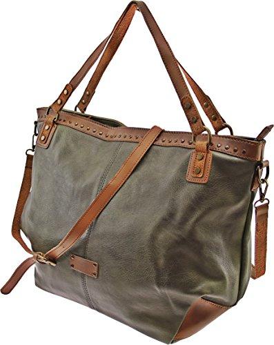 Tote Donna Verde Bag C Per Maria Rosso Il T6F6qR