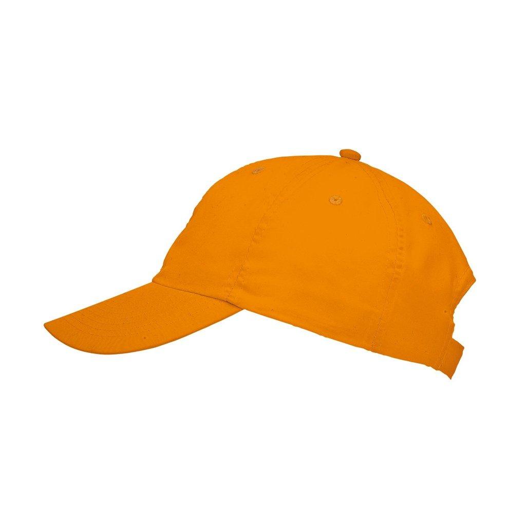 Amazon.com  SOLS Unisex Meteor 6 Panel Plain Baseball Cap (ONE) (Black)   Clothing 0ea4d21c5d84