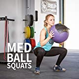 REP FITNESS 12 lb med Ball