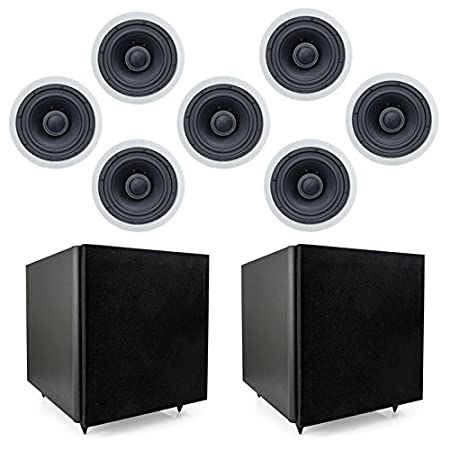 Smarthome SELECT 7.0-Channel Speaker Kit-Classic In-Ceiling Speakers Smarthome Technologies 820017