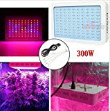 USA Premium Store 300W LED Grow Light Lamp Full Spectrum Panel Veg Flower for Hydro Indoor Plant