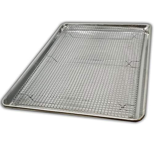 "Cookie Sheet Pan and Cooling Baking Rack, 18"" x 26"" Full"