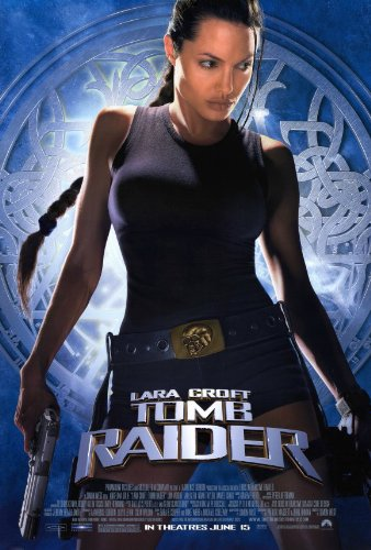 Amazon Com Tomb Raider Lara Croft Movie Poster 1 Sided