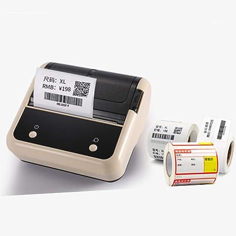 Amazon.com: KUNHEWUHUA - Impresora automática de etiquetas ...