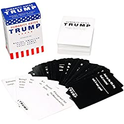 Humanity Hates Trump Card Game - Expansion One (80 White Cards, 30 Black Cards)