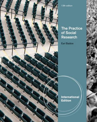 The Practice Of Social Research Earl Babbie Earl R Babbie