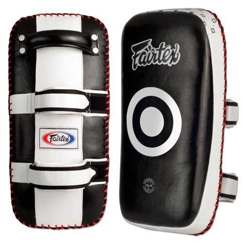 Pad Kick Kick - Ringside Fairtex Muay Thai MMA Kickboxing Training Curved Kick Pads (Pair)