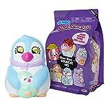 Squish-Dee-Lish Squishy Jumbo Toy, Squishies - Slow Rising Penguin with Baby, Soft Kids Squishy Toys 86714