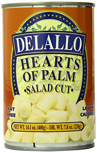 Artichoke Hearts Roasted (DeLallo Salad Cut Hearts of Palm, 14.1 -Ounce Unit (Pack of 6))