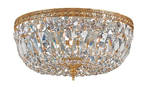 Crystorama 716-OB-CL-MWP Crystal Three Light Ceiling Mounts from Richmond collection in ()