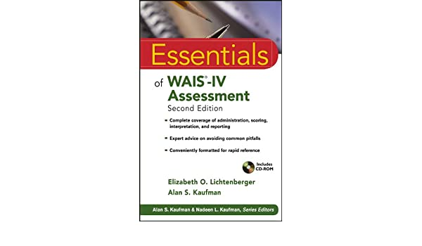 Essentials of wais iv assessment essentials of psychological essentials of wais iv assessment essentials of psychological assessment ebook elizabeth o lichtenberger alan s kaufman amazon kindle store fandeluxe Image collections
