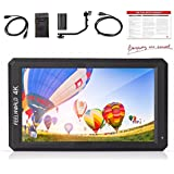 Feelworld F6 5.7 Inch Full HD On-Camera Monitor with 4K HDMI Input 1920 x 1080 Pixels with Battery Kit