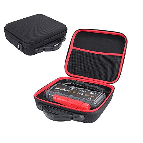 Hard Protective Travel Case for Noco Genius Boost HD GB70 2000 Amp 12V UltraSafe Lithium Jump Starter - By MASiKEN -  17M066