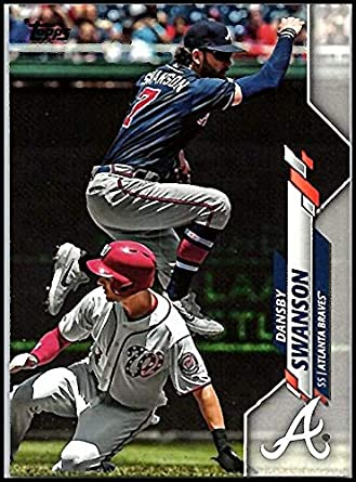 Amazon.com: 2020 TOPPS #47 DANSBY SWANSON BRAVES BASEBALL: Collectibles &  Fine Art