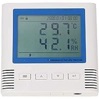 Temperatura y humedad Monitor digital Termómetro interior Sala