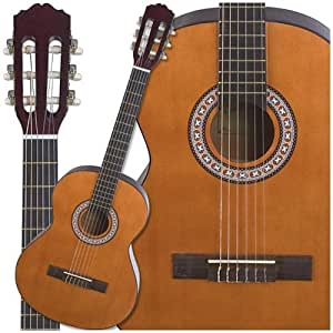 carlo robelli 3 4 nylon string acoustic guitar musical instruments. Black Bedroom Furniture Sets. Home Design Ideas