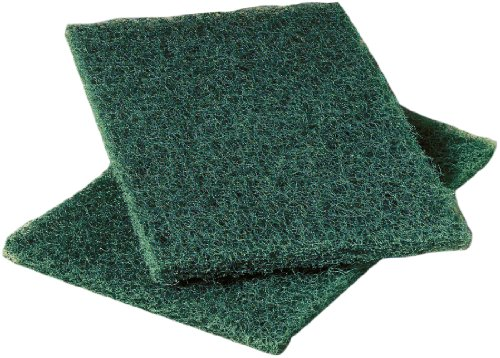 Scotch-Brite 86 Heavy Duty Commercial Scouring Pad, 9'' Length x 6'' Width x 1/4'' Thick, Green (3 Boxes of 12) by 3M (Image #2)
